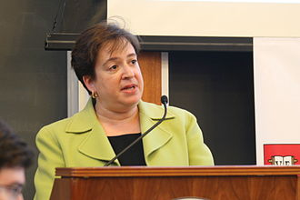 Elena Kagan - Kagan as Dean of Harvard Law School in 2008