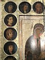 Eleusa with Old Testament women (Annunciation cathedral in Moscow) by shakko 03.jpg