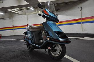 Honda Elite - Image: Elite 150 Deluxe