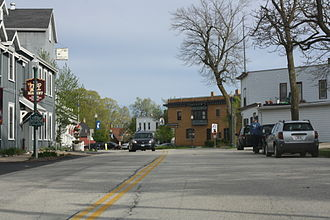 Elkhart Lake, Wisconsin - The site of the 1951 and 1952 start/finish line.