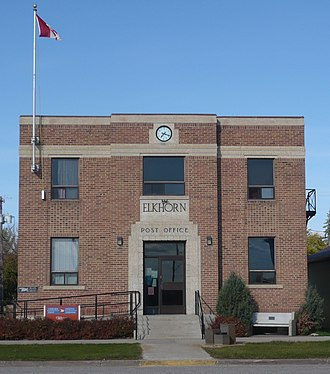 Elkhorn, Manitoba - Elkhorn Post Office