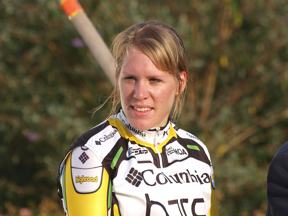 images Ellen van Dijk world road and track cycling champion