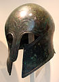 Elmo greco in bronzo, 675-500 ac. ca. 2.JPG