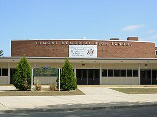 Elmont Memorial Junior – Senior High School Public high school in Elmont, New York, USA