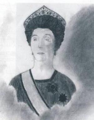 Nazikeda Kadın (wife of Mehmed VI) - Image: Emine Nazikeda