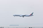 Emirates, EK316, Boeing 777-36N(ER), A6-EBW, Arrived from Dubai, Kansai Airport (17195810642).jpg