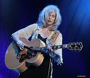 Emmylou Harris, playing in Ahoy, Rotterdam, Th...