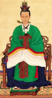 Queen Sinjeong politician