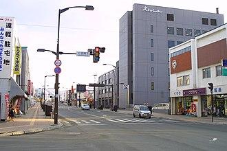 Engaru, Hokkaido - Image: Engaru, Hokkaido, March 2004