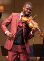 England playing violin at the Geffen Theatre.png