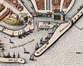 Enkhuizen - Topographia Enchusae (Cornelis Biens, 1649) - detail Eiland.jpg