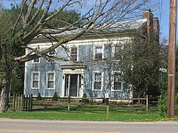 Historic Enos Miles House, built in 1830s