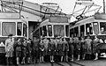 Ensimmäinen sodanjälkeinen naisraitiovaununkuljettajakurssi 5.8 - 1.10.1966.jpg