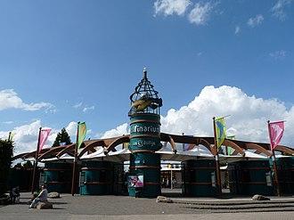 Dolfinarium Harderwijk - Entrance to the Dolfinarium
