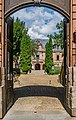 Entrance to the former bishopric in Rodez 02.jpg