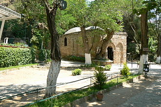 House of the Virgin Mary - The exterior view of the restored house, now serving as a chapel.