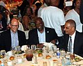 Eric Holder, Tom Perez and Rushern Baker at DNC (27993610544).jpg