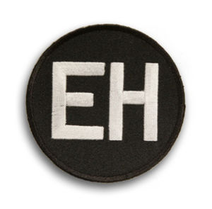 Ernie Harwell - Ernie Harwell commemorative patch worn by the Tigers in 2010.
