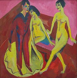 Ernst Ludwig Kirchner Tanzschule 1914-1