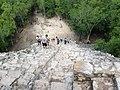 Escaleras de la pirámide de Cobá, Quintana Roo.jpg