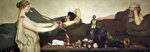 Escena pompeyana (Alma-Tadema)