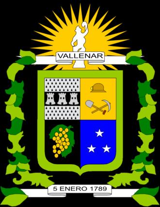 Vallenar - Image: Escudo Vallenar