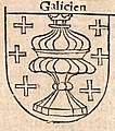 Escudo da Galiza na Cosmographia de Sebastian Münster (1544).jpg
