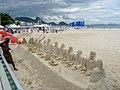 Esculturas de arena Copacabana, Rio de Janeiro, Brasil.jpg