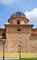 Església de Sant Agustí d'Alfara de la Baronia, transsepte i cúpula.JPG