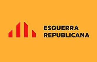 Republican Left of the Valencian Country - Image: Esquerra republicana pv logo