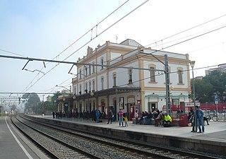 Sitges railway station