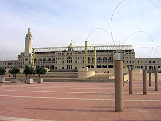 People's Olympiad - The Estadi Olímpic de Montjuïc in Barcelona was intended to be the main stadium for the People's Olympiad.