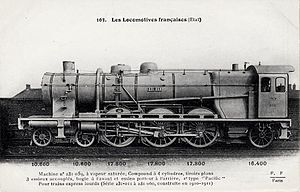 État 231-011 to 231-060 - 231-059 in a postcard derived from a manufacturer's photograph