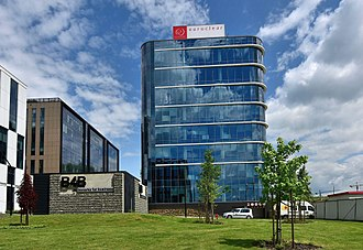 Euroclear - Seat of Euroclear Bank in Kraków, Poland