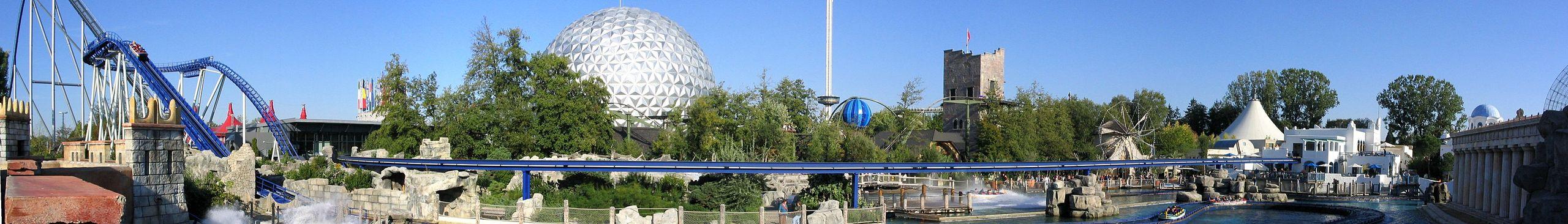 Comment aller en train a europapark for Sejour complet europa park