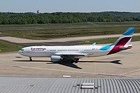 D-AXGB - A332 - Eurowings