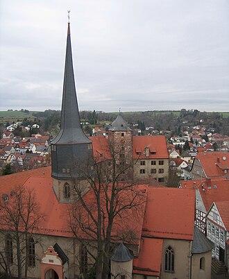 Schlitz, Hesse - Image: Ev. Stadtkirche Schlitz