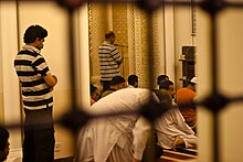 Evening service at Yateem mosque, Manama, Bahrain.jpg