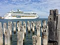 Explorer of the seas in Port Melbourne (from Princes Pier).jpg