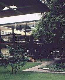 Expo 1958 Brussels Germania architetti Egon Eiermann et Sep Ruf