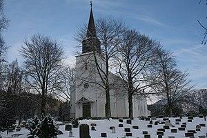 Jacob Wilhelm Nordan - Image: Førde kyrkje 2