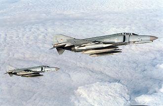 Taktisches Luftwaffengeschwader 74 - Image: F 4Fs JG74 1998