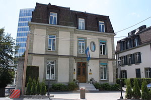 International Federation of Gymnastics - The FIG headquarters in Lausanne.