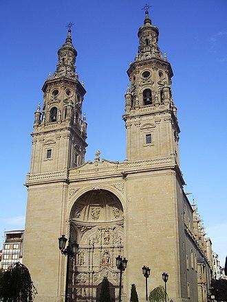 Logroño - Con-catedral de Santa María de la Redonda.