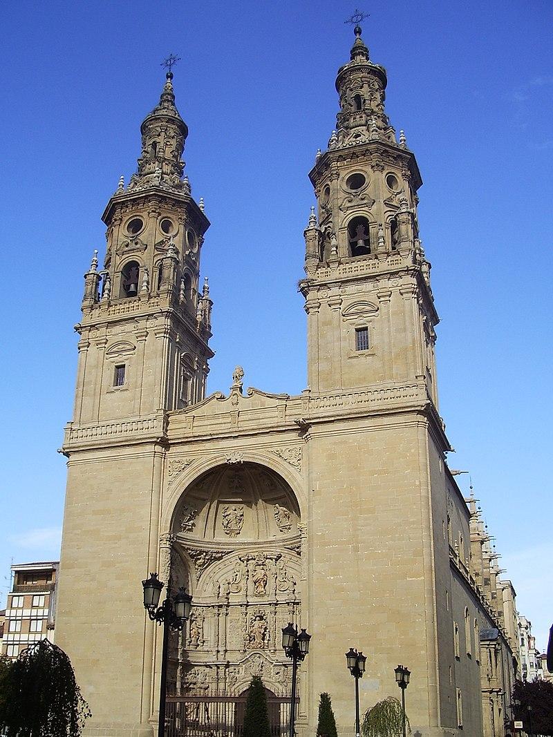 Façade of Santa María de la Redonda in Logroño.jpg