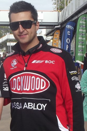 Fabian Coulthard - Fabian Coulthard at the Hamilton 400 in 2012
