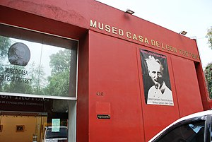 Leon Trotsky Museum, Mexico City - Facade of the museum