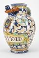 Fajans, apotekskanna, 1600-tal - Hallwylska museet - 90378.tif