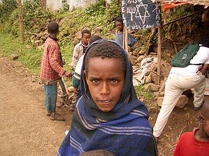 Falash Mura - Falash Mura child, 2005