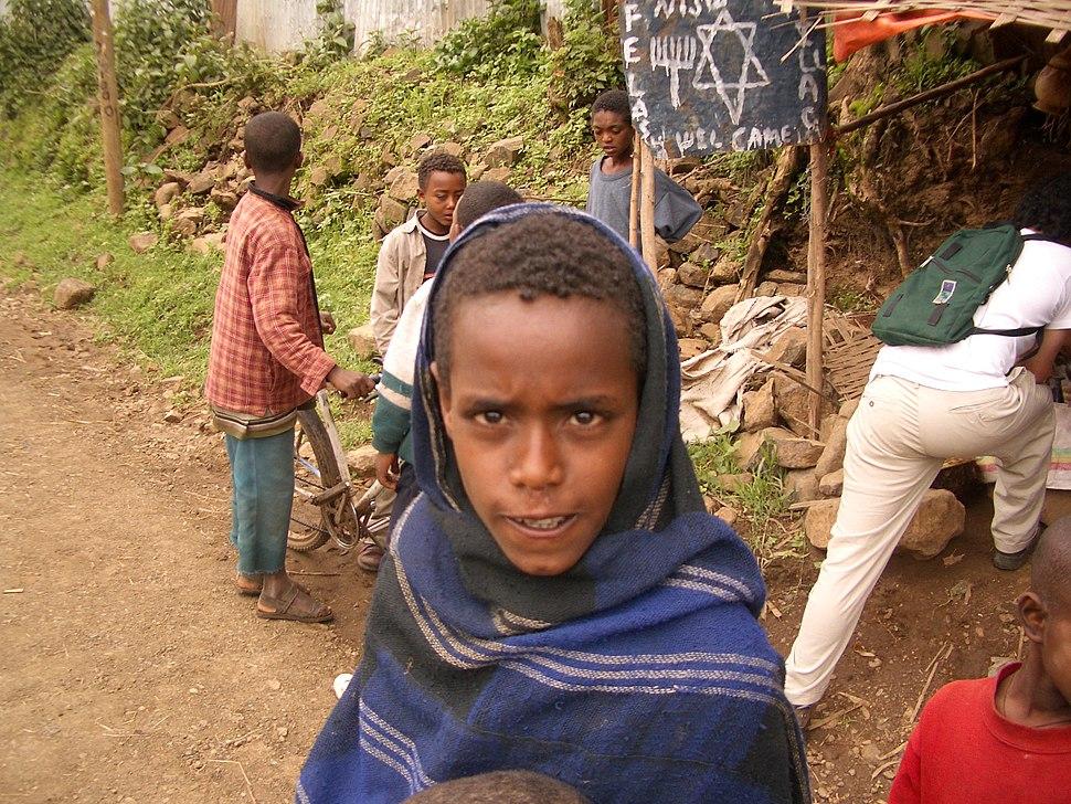 Falash Mura kid